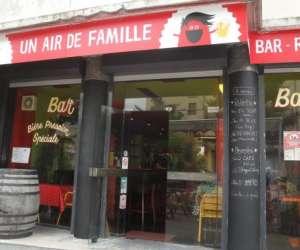 Bar-resto un air de famille