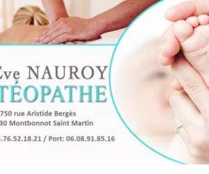 Eve nauroy - ostéopathe d.o