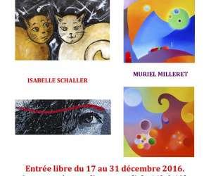 """Muriel milleret. huiles sur toile """"langage de l"""