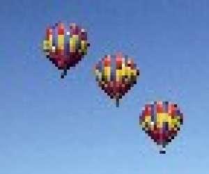 Alpes montgolfiere