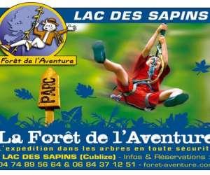 photo La Foret De L'aventure Du Lac Des Sapins