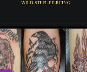 Wild steel piercing