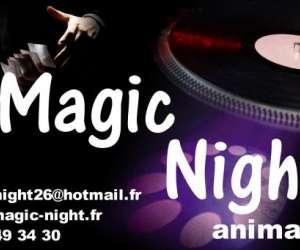 Magicnight anime tout vos soirees en drôme/ardeche