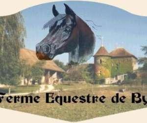 """Centre equestre de la ferme de by """"equitation et pensio"""