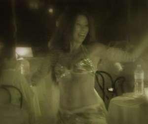 Alexandra danseuse orientale  egyptienne et  modern