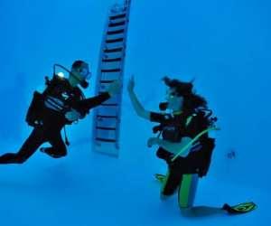 Espace aquatique les vagues