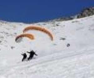 Speedriding - parapente a ski