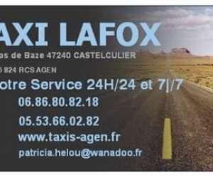 Taxi lafox a votre service