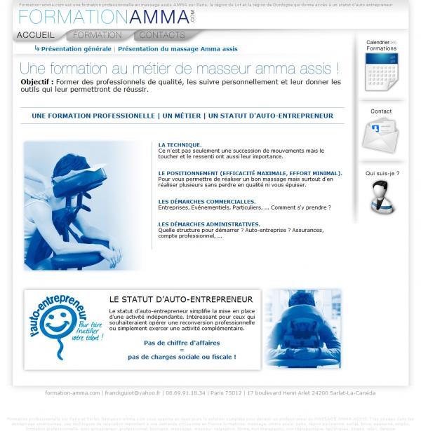 formation massage amma assis sarlat la caneda 24200 t l phone horaires et avis. Black Bedroom Furniture Sets. Home Design Ideas