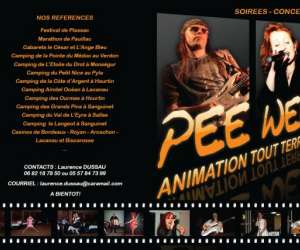 Orchestre pee wee/animation musicale tout terrain