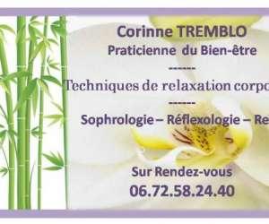 Massage bien-être et relaxation corinne tremblo