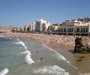 Les plages de biarritz