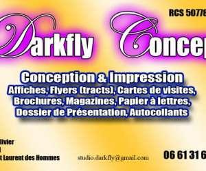 Darkfly concept imprimerie
