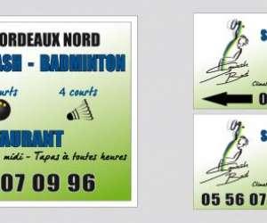 Bordeaux nord squash badminton