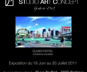Galerie studio art concept