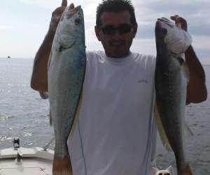 Gagnette fishing - peche en mer bassin d arcachon