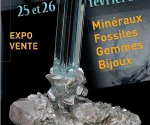2ème salon minéraux fossiles gemmes bijoux