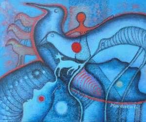 Mindszenti laszlo artiste peintre