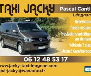 Taxi jacky à léognan