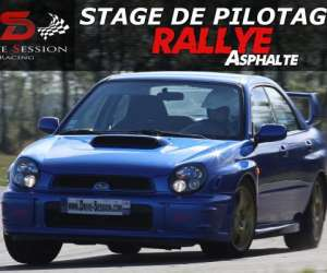 Stage de pilotage rallye drive session