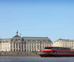 Bordeaux river cruise -  bateau-restaurant le sicambre