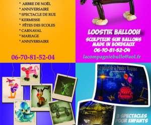 La compagnie bulle - magicien -- sculpteur sur ballons