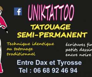 Uniktattoo - tatouage semi-permanent
