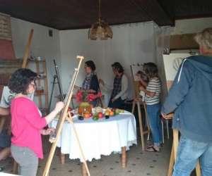 Atelier de peinture -  edith gorren