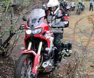 Moto maxi trail offroad