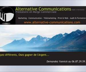 Alternative communications télémarketing communication