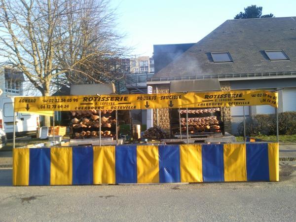 Rotisserie au feu de bois à Cherbourg 50100  Téléphone  ~ Rotissoire Au Feu De Bois