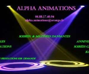 Alpha animations