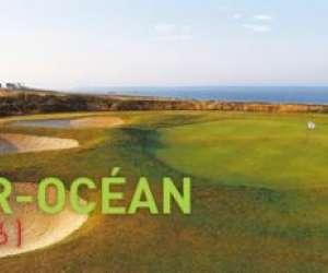 Golf de ploemeur océan