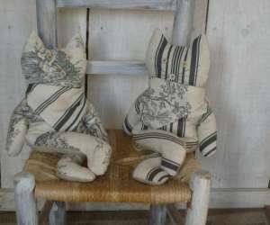 Creations objets déco à base de lin