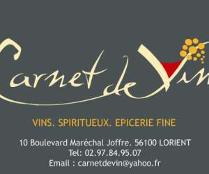 carnet de vins
