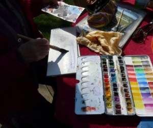 Annaïg le bihan -  stage croquis et  aquarelle  en bret