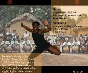 Cours de danse africaine a brest