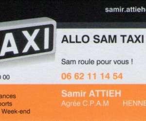 Allo sam taxi