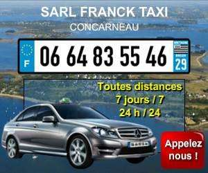 Franck taxi concarneau