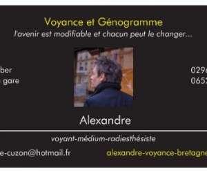 Alexandre voyance bretagne  - médium  magnétiseur.