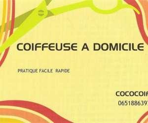 Cococoif     -  coiffeuse à  domicile