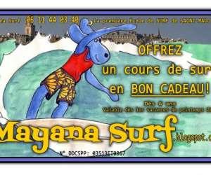 Mayana surf école de surf
