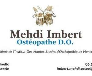 Imbert  mehdi   ostéopathe