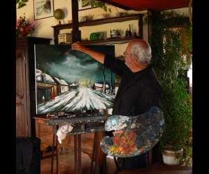 Galerie francoise cazat  - exposition de peintures
