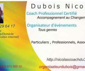 Nicolas dubois , coach accompagnant - organisation-coac
