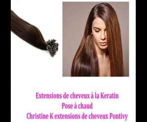 Christine k extensions de cheveux