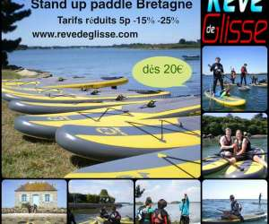 Rêve de glisse -  kitesurf -  stand up paddle