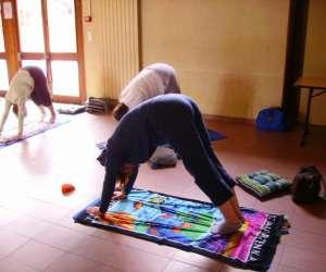 Aline  jardin   cours de yoga