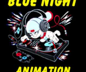 Blue night animation