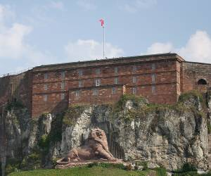 Lion de belfort gardien monument